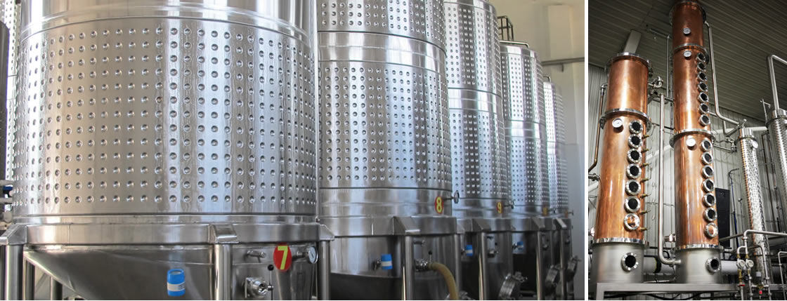 Distillation and brewing equipment - wine and cider making